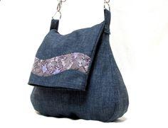 """Tasche """"Jeans"""" blau von MADE BY N. auf DaWanda.com"""