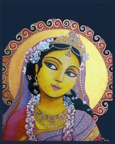 Radharani, feminine beauty