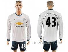 http://www.jordanaj.com/manchester-united-43-borthwickjackson-sec-away-long-sleeves-soccer-club-jersey.html MANCHESTER UNITED #43 BORTHWICK-JACKSON SEC AWAY LONG SLEEVES SOCCER CLUB JERSEY Only $20.00 , Free Shipping!