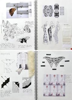 Ideas Fashion Sketchbook Inspiration Projects Design Process For 2019 Fashion Design Inspiration, Fashion Design Books, Kunstjournal Inspiration, Fashion Design Sketchbook, Sketchbook Inspiration, Fashion Design Portfolios, Fashion Ideas, Fashion Details, Fashion Designers