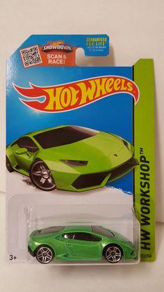 Hot Wheels HW Workshop Lamborghini Huracan LP 610-4 Green Exotic Car 222/250 #HotWheels #Lamborghini