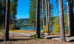 Donner Lake State Park near Lake Tahoe ...
