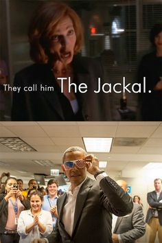 They call him...The Jackal. CJ Cregg is my spirit animal❤