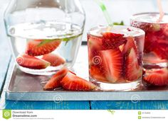 Refreshing Cold Strawberry Soda Dink - Download From Over 29 Million High Quality Stock Photos, Images, Vectors. Sign up for FREE today. Image: 41752835