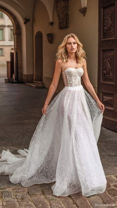Dream Wedding Dresses Simple helena kolan 2020 bridal strapless sweetheart sheer corset bodice fully embellished lace a line ball gown wedding dress sheer back chapel train sv -- Helena Kolan 2020 Wedding Dresses Wedding Dress Black, Pakistani Wedding Dresses, Black Wedding Dresses, Wedding Dresses Plus Size, Bridal Dresses, Wedding Gowns, Bridal Corset, Corset Wedding Dresses, Lace Corset