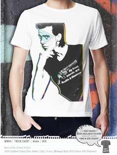 NICK CAVE Men's t-shirt Concept Clothing, Nick Cave, Mens Tees, Size Chart, Colours, T Shirt, Clothes, Store, Women