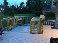 How To Turn An Ordinary Deck Into An Amazing Outdoor Kitchen! – 32 Pics
