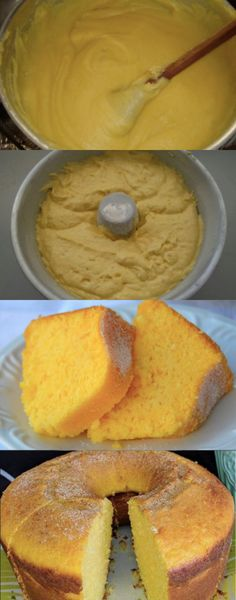 Gateaux Cake, Breakfast Dishes, Croissant, Cornbread, Coco, Deserts, Dessert Recipes, Food And Drink, Cooking Recipes