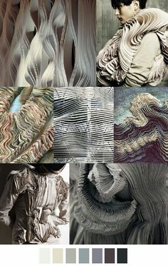 Pattern Curator delivers color, print and pattern trends and inspiration. Fashion Colours, Fashion Details, Textile Design, Textile Art, Textures Patterns, Color Patterns, Arte Fashion, Fashion Fashion, Runway Fashion