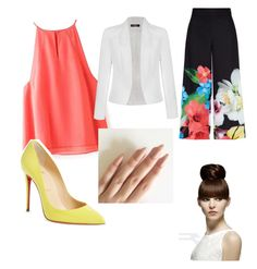 """I mean business"" by elisehqwk on Polyvore featuring Ally Fashion, Ted Baker and Christian Louboutin"