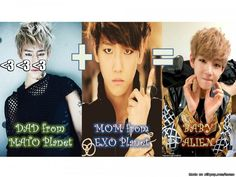 Funny Meme Kpop Bts And Exo : Daehyun and his kids xd big bang bap vixx bts pinterest kpop
