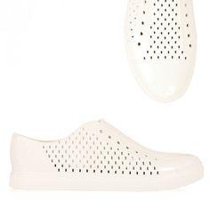 Vivienne Westwood Plastic Orb Trainer Cream   GarmentQuarter