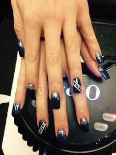 71 Best Dallas Cowboys Nails Images On Pinterest Dallas Cowboys