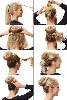 Frisuren zum Nachmachen mit Video Anleitung
