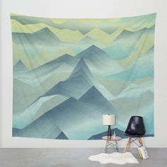 Top of the World Wall Tapestry by Angelo Cerantola