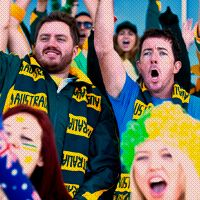 See the Green and Gold Unfold! Go Green, Green And Gold, First Fleet, Going For Gold, Aussies, Thunder, Kangaroo, Victorious, Olympics