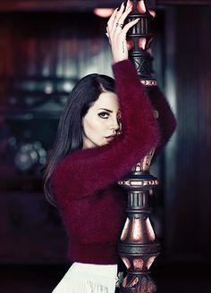 Lana Del Rey for Fashion Magazine 2014 (c) Chris Nicholls
