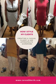 Creating a casual, classy & age appropriate wardrobe for my client. Real People, Wardrobes, What To Wear, Style Me, Stylists, Classy, Age, Casual, Outfits