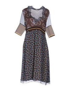 Prezzi e Sconti: #Pianurastudio vestito al ginocchio donna Cacao  ad Euro 169.00 in #Pianurastudio #Donna vestiti vestiti