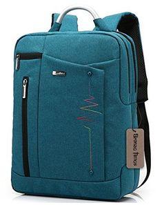 Bronze Times (TM) Premium Shockproof Canvas Laptop Backpack Travel Bag (Blue) - CLICK IMAGE to see more Description & Spec. Best Laptop Backpack, Laptop Rucksack, Backpack Travel Bag, 17 Laptop, Travel Bags, Fashion Backpack, Air Travel, Bronze, Nylons