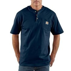 Carhartt Men's Workwear Short Sleeve Henley