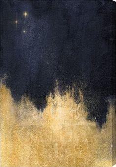 Stars in the Night Canvas Print, Oliver Gal   Joss & Main