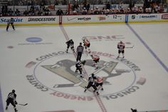 Pens VS flyers in Pittsburgh