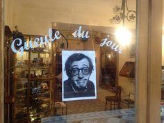 Gueule du jour : Woody Allen   Lunettes : acétate noir