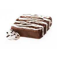 Cookies and Cream Muscle Brownie from Lenny and Larry's - 20 grams of protein and NO JUNK!