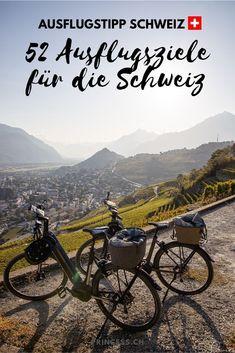 Entdecke über 50 Ausflugsziele in der ganzen Schweiz. Graubünden, Zentralschweiz, Tessin, Zürich, Bern, Westschweiz und in der Ostschweiz. Zahlreiche Ausflugstipps vom wandern über Städtereisen bis hin zu Wellness. Lass dich mit Reise-Tipps inspirieren! Zermatt, Wallis, Bern, Wellness, Mountains, Nature, Travel, Road Trip Destinations, Beautiful Places