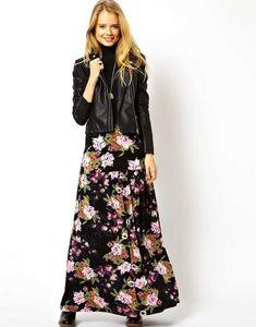 Cómo combinar las faldas largas en primavera: Fotos de los modelos (42/42) | Ellahoy