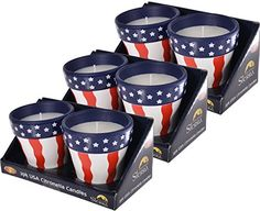 Camping Candles - Sierra Case Pack USA Terracotta Outdoor Garden Citronella Candles 6 Candles -- Details can be found by clicking on the image.