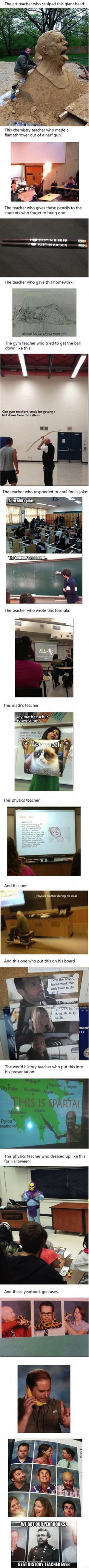 Tickld Mobile - 17 Teachers That Went The Extra Mile. Number 7 Is Pure Gold.