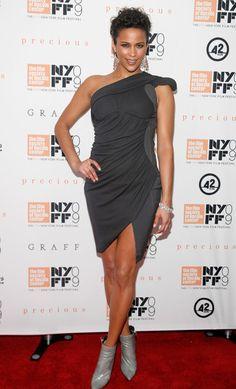 Charcoal at the 2009 New York Film Festival - Style Crush: Paula Patton - Photos