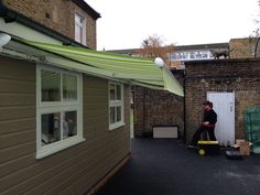 Great looking awning for a nursery by Deans Blinds & Awnings