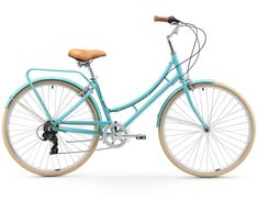 sixthreezero Ride in the Park Women's 7sp Touring City Bike, Blue