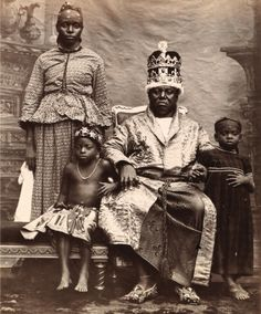 King Duke IX of Old Calabar, 1895