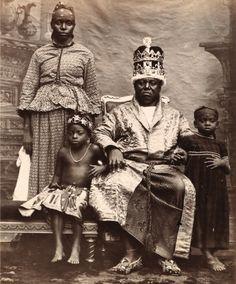King Duke IX of Old Calabar, 1895