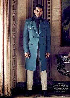 Now this is one fetching chesterfield coat.