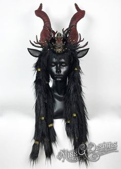 Horns Headdress Head