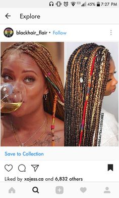 Beyonce Inspired Knotless Box Braids College Hair In