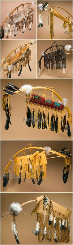 Native American bows and arrows are classic cultural icons that are perfect for rustic southwest style and western home decor. Any wall can be brightened and personalized with the addition of a Native American bow, quivers and Indian arrows. The bows and