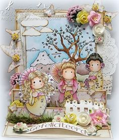 Cards made by Chantal: Marvelous Magnolia Challenge - Shape it up!