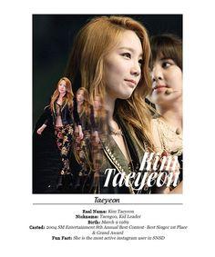 Snsd - Kim taeyeon Taeng Taengoo Kidleader #fanart