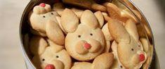 Foto - Receita de Aprenda a fazer biscoitos de páscoa - formato  de coelhinho