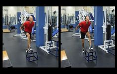 Alternating Box Push-Offs and more:  single-leg exercises for more power on the bike.