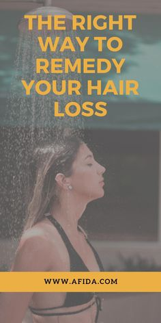 Here are all the right ways for you to remedy your hair loss, depending on what kind it is #OilForHairLoss