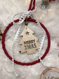 Merry Christmas, Wooden Christmas Ornaments, Home Decor, Decoration Home, Merry Christmas Love, Wish You Merry Christmas, Interior Design, Home Interior Design, Home Improvement