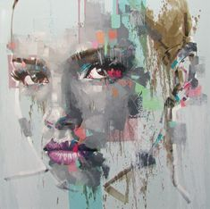 Jimmy Law, 1970 | Abstract portrait painter | Tutt'Art@ | Pittura • Scultura • Poesia • Musica