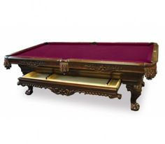 Olhausen St Charles Pool Table with Drawer